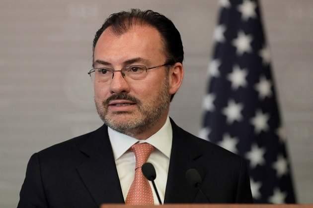 Renegociación del TLCAN no se ve afectada por militarización de la frontera: Videgaray
