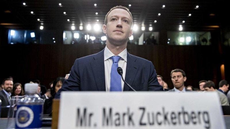 Fundador de Facebook comparece ante el Senado de EU