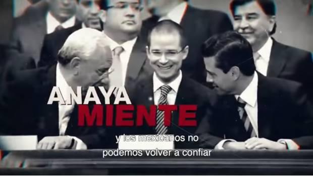 Juntos Haremos Historia lanza spot contra Anaya