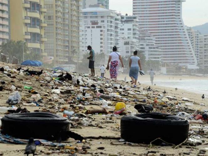 Declaran alerta sanitaria en Acapulco por acumulación de basura