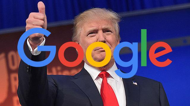 Amenaza Trump a Google por 'amañar' búsquedas sobre él