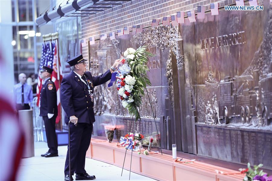 Estados Unidos recuerda atentados del 11-S