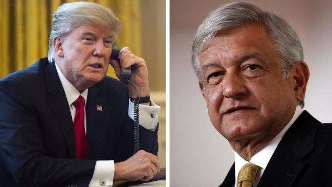 Trump analiza asistir a la toma de protesta de AMLO