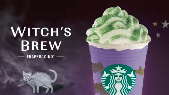 ¡Abracadabra, patas de cabra! Starbucks lanza nuevo frappuccino para Halloween