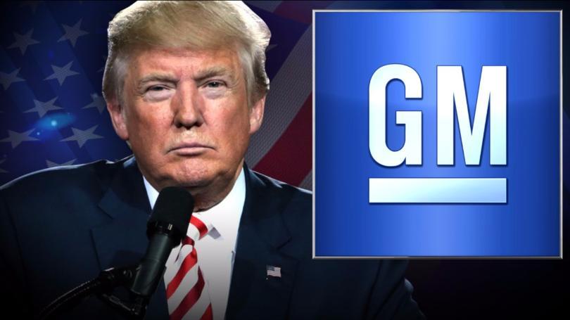 Trump amenaza con aranceles a automóviles tras anuncio de cierre de plantas de GM