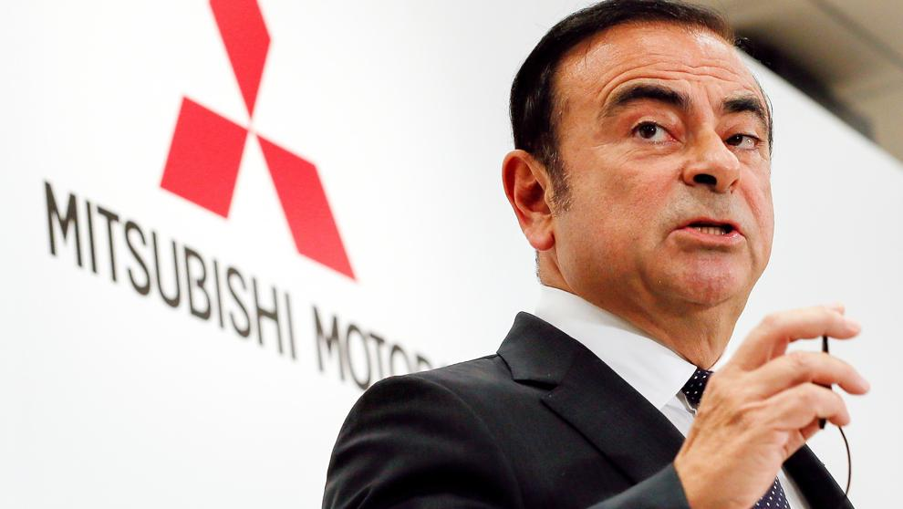 Mitsubishi destituye también a Ghosn como presidente