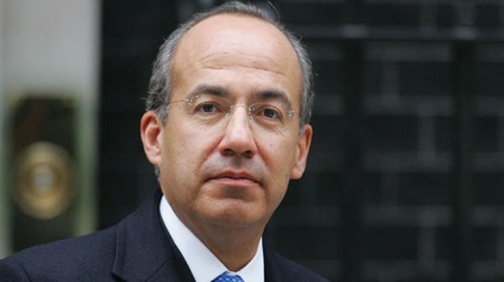 Felipe Calderón quiere crear nuevo partido político