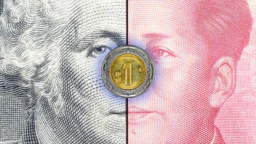 El peso 'paga por ver' el resultado de negociaciones entre EU y China