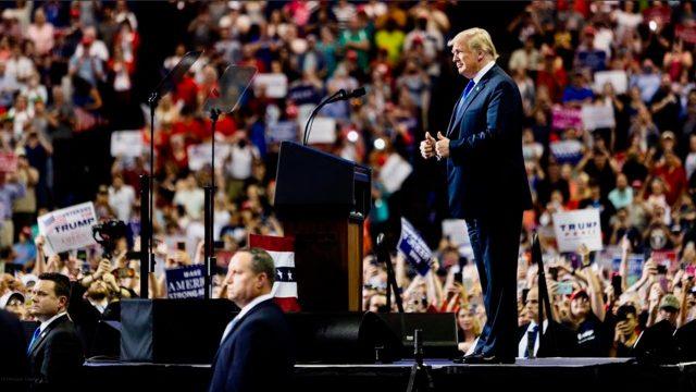Trump insistirá por TV en la construcción de muro fronterizo