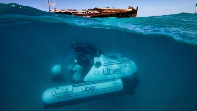Uber lanza su servicio para viajar al fondo del mar