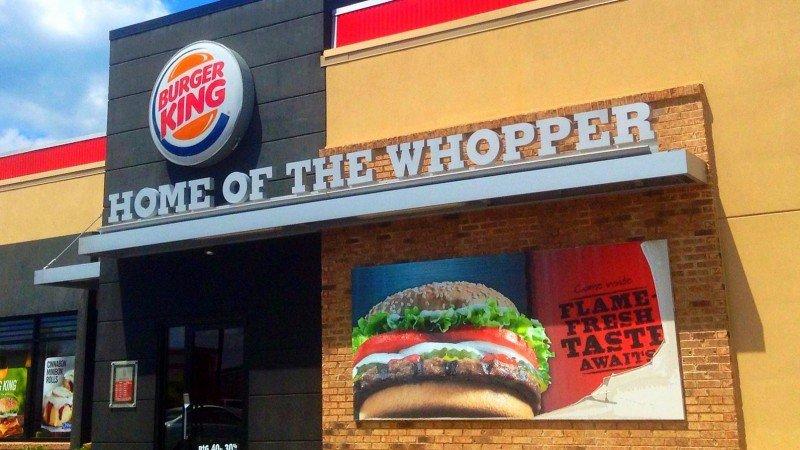 Burger King se une a la lucha contra el uso del plástico