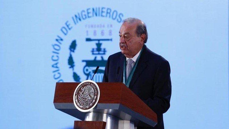 """México necesita una """"sacudida"""" y más inversión para crecer: Slim"""