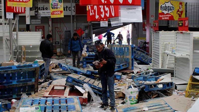 Walmart acusa al gobierno de Chile de no garantizar el orden y la seguridad pública