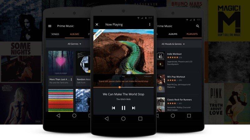 Amazon compite contra Spotify con versión gratuita de su servicio de música