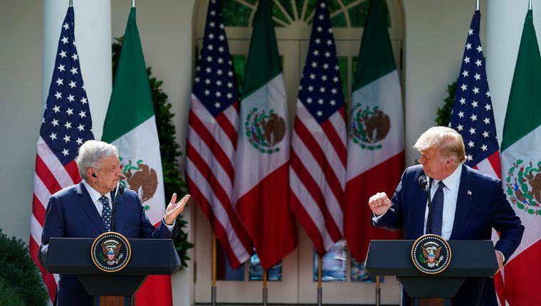 Acuerdo en tiempos de crisis; López Obrador y Trump defienden T-MEC