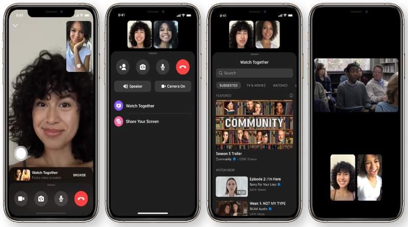 Facebook lanza Watch Together para ver vídeos con amigos