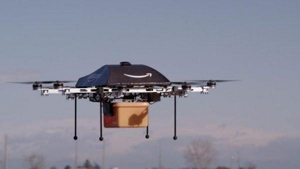 Amazon recibe permiso para empezar a entregar paquetes con drones en EU
