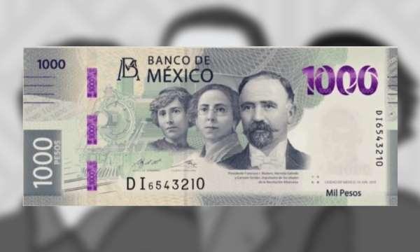 Banxico presenta nuevo billete de mil pesos, protagonizado por Madero, Serdán y Galindo; así es