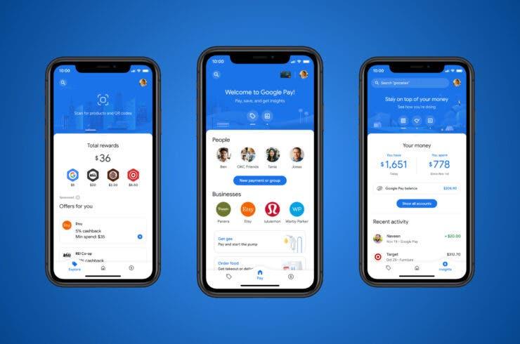 Google Pay se renueva por completo y pretende convertirse en la mejor app para controlar tu dinero